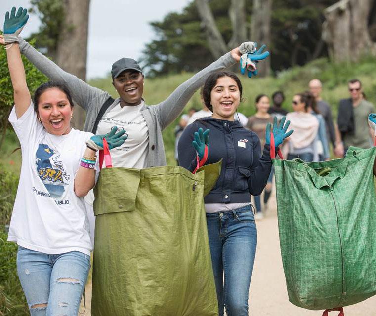 Golden Gate National Parks Conservancy Stewarding